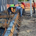 Concrete Footings Poured for Outdoor Patios 1