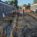 Concrete Footings Poured for Outdoor Patios 2