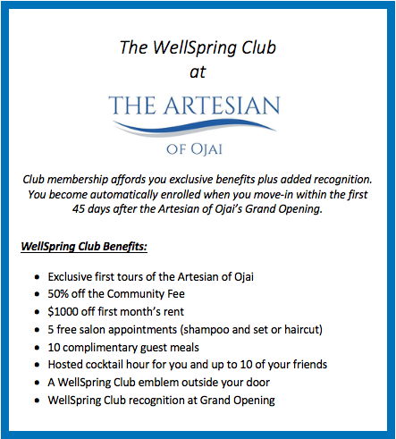Wellspring Club Benefits