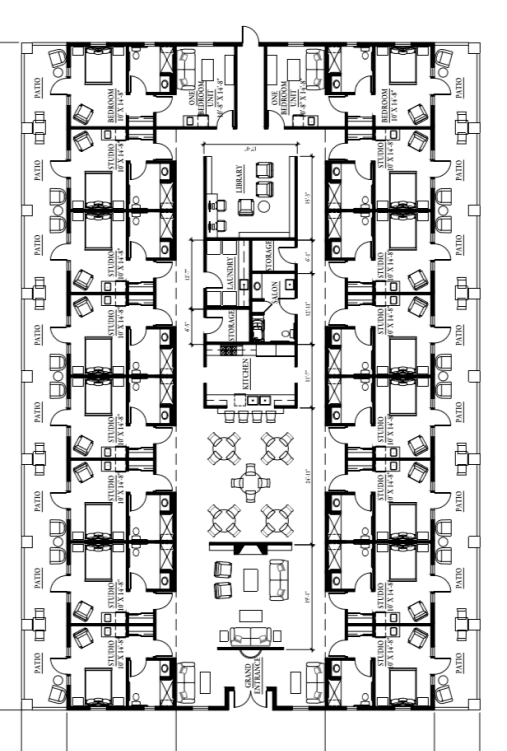 The Artesian of Ojai Building Floor Plan